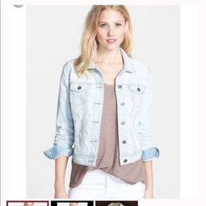 Halogen light jean jacket